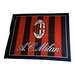 Milán bandera de otro lado, 140 x 180 cm producto oficial