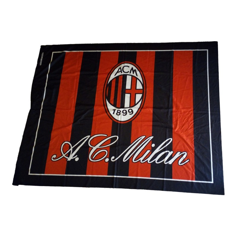 Milán escudo de la bandera de 140 x 180 cm producto oficial