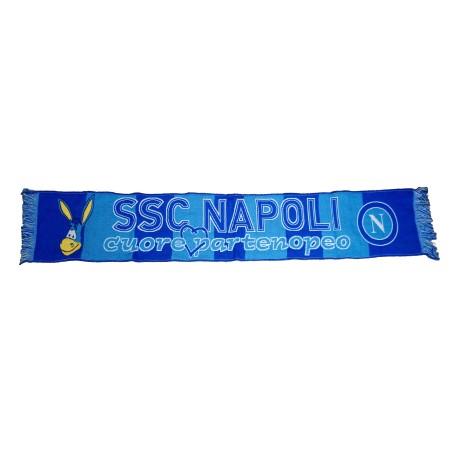 Napoli écharpe jacquard Naples officiel