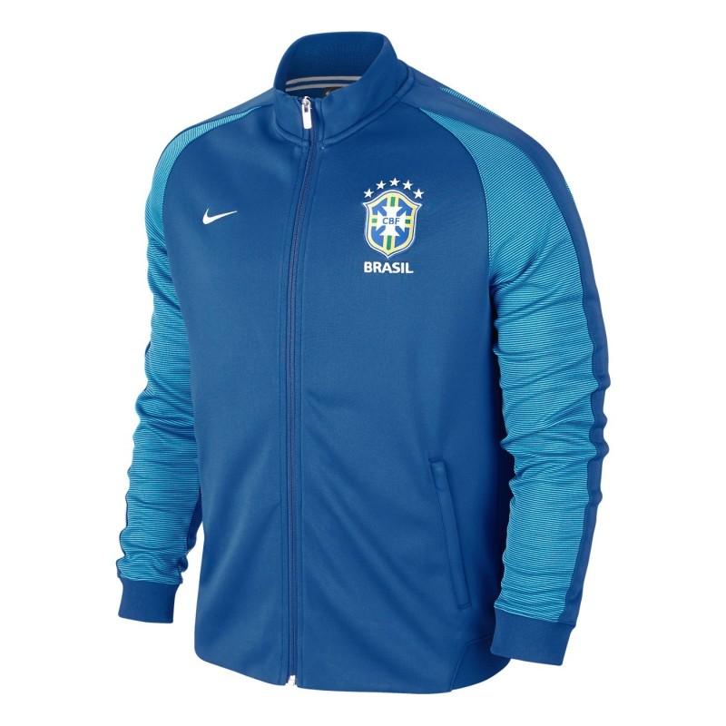 Brasil sudadera Authentic N98 azul Nike