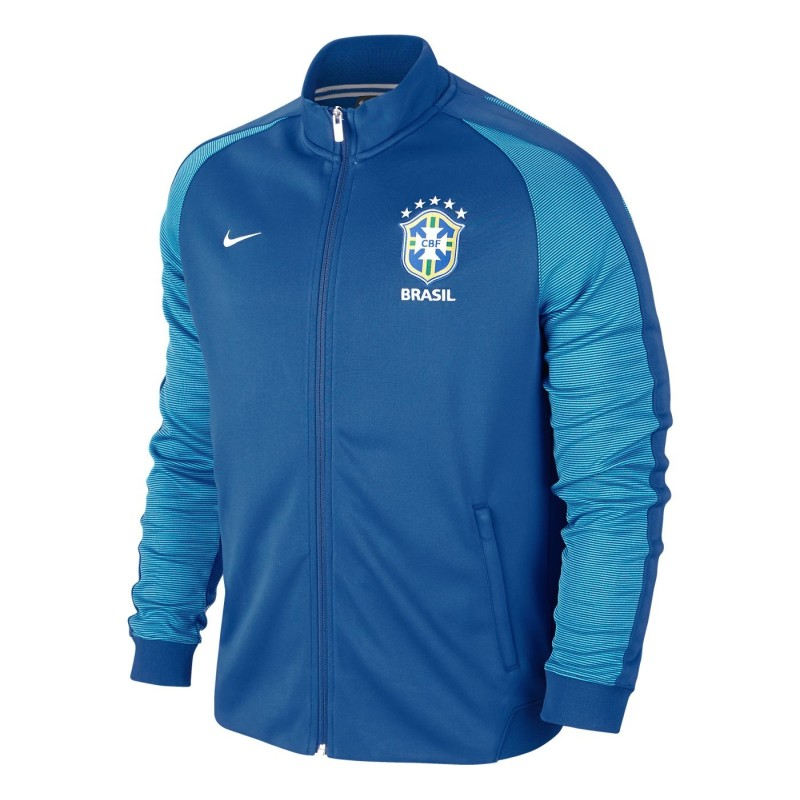 Brasilien-sweatshirt Authentic N98 blau Nike