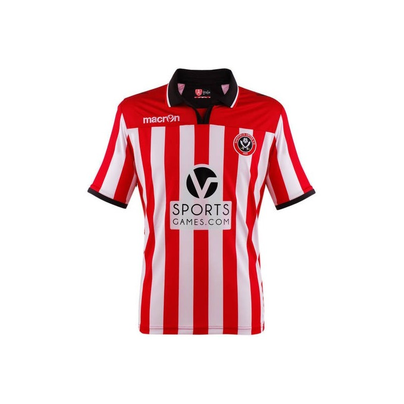 Sheffield United maillot domicile 2013/14 Macron