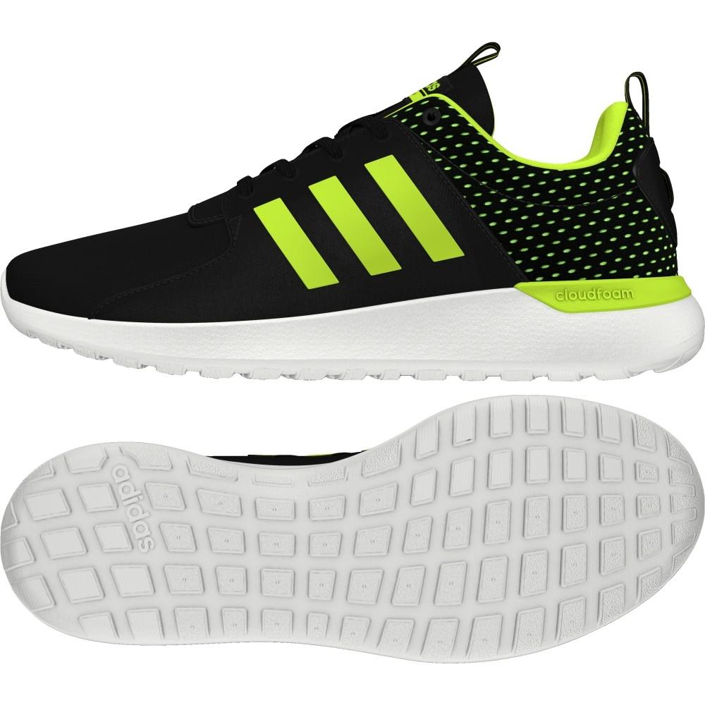 best sneakers 6c62c 3f547 Adidas Scarpe CF Lite Racer nero giallo fluo
