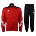 Adidas Survêtement de formation Sereno 14 rouge