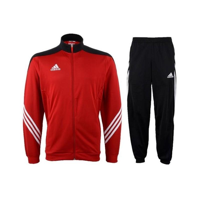 Adidas Tuta allenamento Sereno 14 rossa