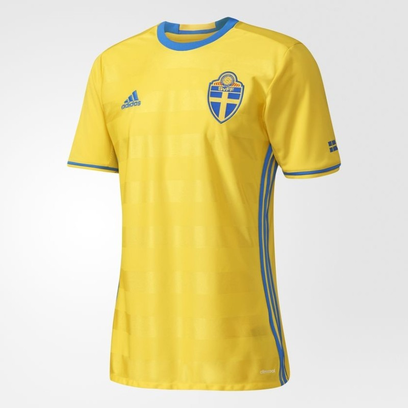 Sweden SVFF home shirt 2016 Adidas