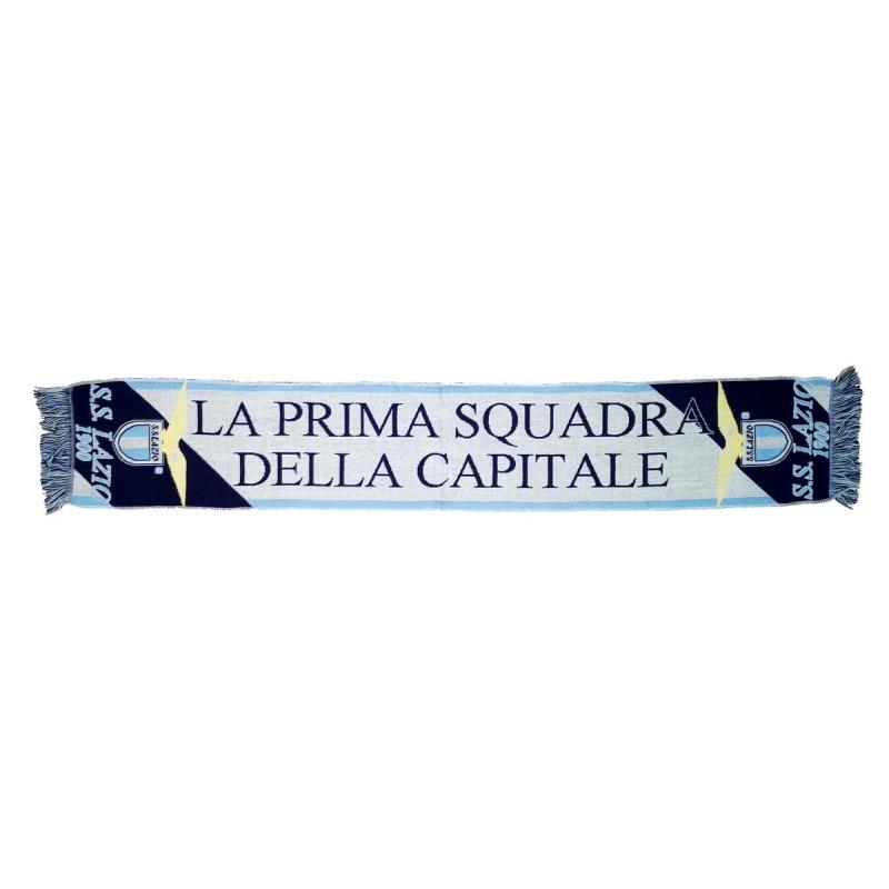 """Lazio sciarpa """"la prima squadra della Capitale"""" ufficiale"""