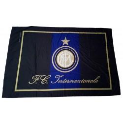 Inter flagge 140 x 200 offiziellen