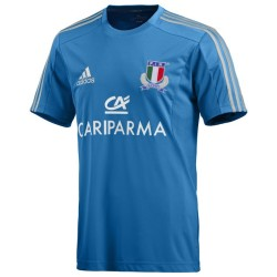 Italia t-shirt FIR rugby performance Adidas