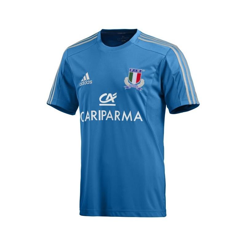 Italia t-shirt FIR rugby performance Adidas