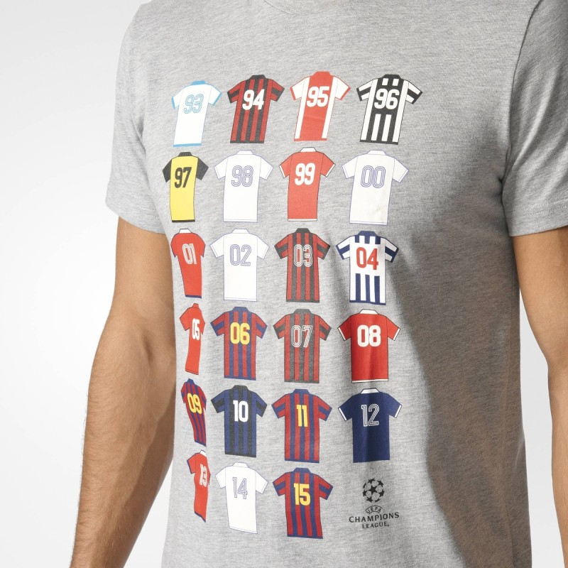Adidas T Shirt UCL Uefa Champions League History History