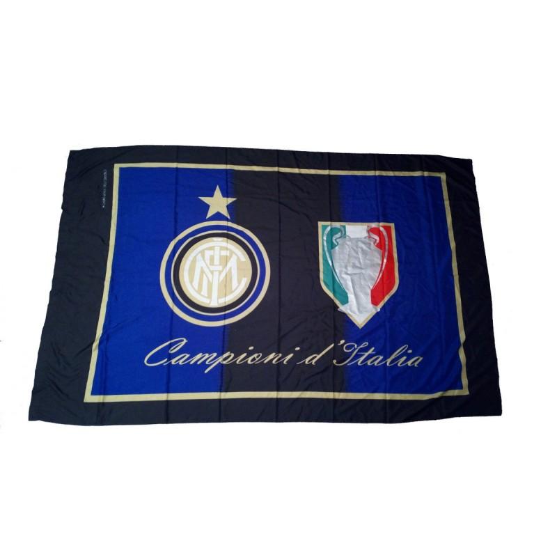 Inter bandiera Campioni d'Italia 140x200cm ufficiale