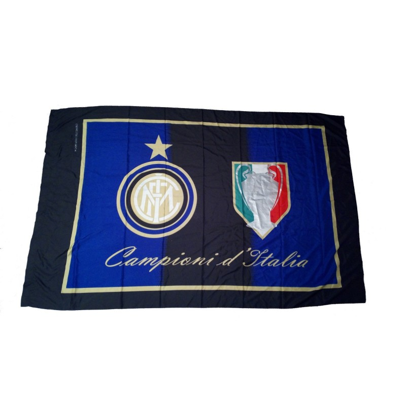 Inter flag Italian Champions 140x200cm official