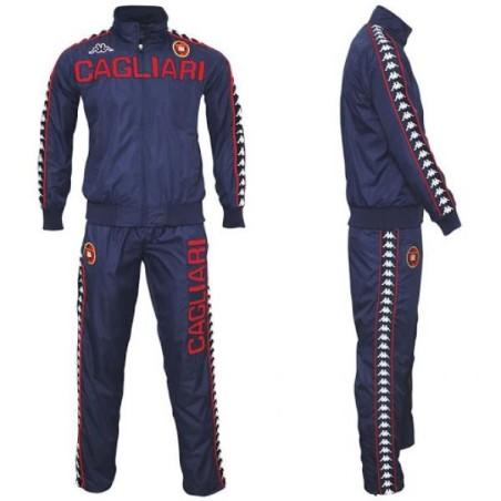 Cagliari suit representing navy blue Kappa