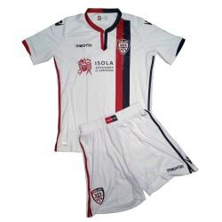 Cagliari mini kit away ragazzo 2016/17 Macron