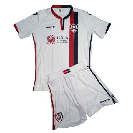 Cagliari mini kit away guy 2016/17 Macron