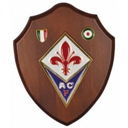 Fiorentina Crest in legno prodotto ufficiale