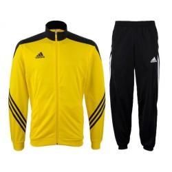 Tuta allenamento Sereno 14 giallo Adidas