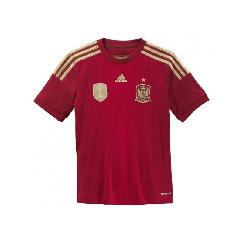 Casa de españa de la camisa de niño 2014/16 Adidas