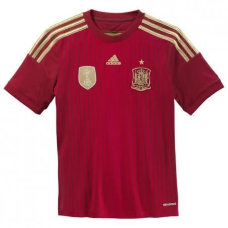 Espagne maillot domicile de l'enfant Adidas 2014/16