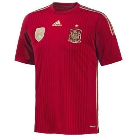 La FAE Espagne maillot domicile Adidas 2015/16