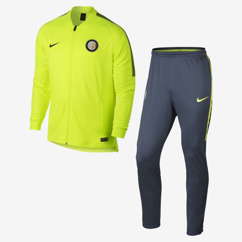 Inter tuta panchina gialla 2017/18 Nike