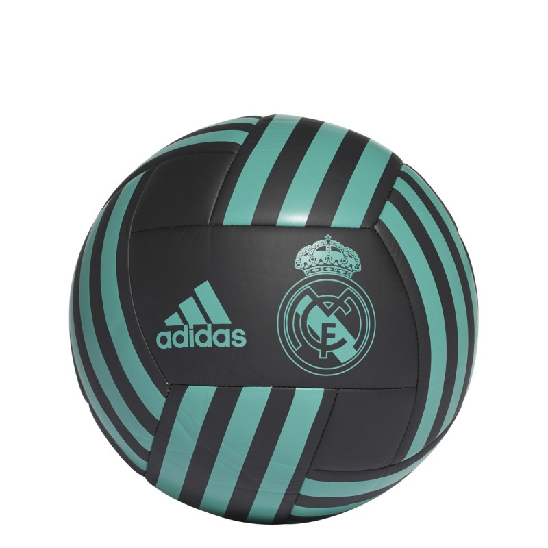 Real Madrid pallone calcio FBL nero 2017/18 Adidas
