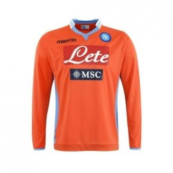 Napoli goalkeeper shirt m/l orange 2013/14 Macron