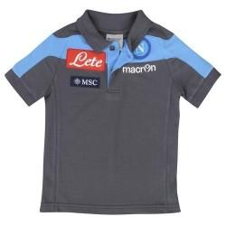 Naples polo team official grey Macron