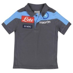 Neapel-polo-team-offizielle Macron grau