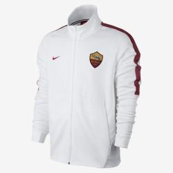 Roma felpa Authentic pre gara bianca 2017/18 Nike