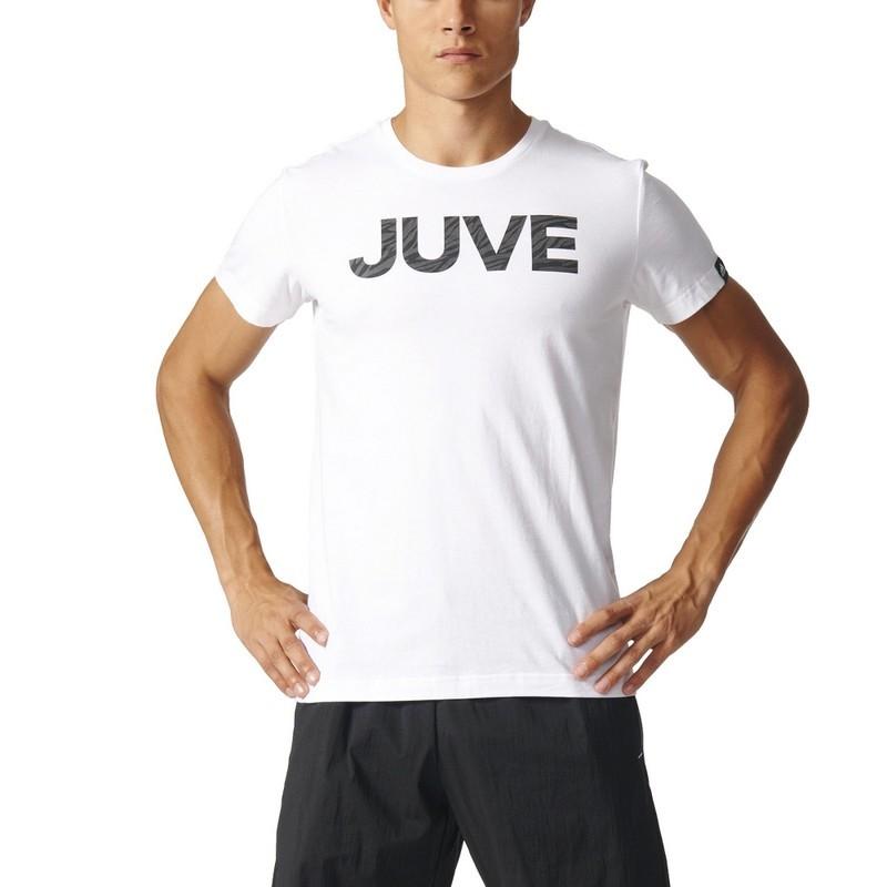 Juventus t-shirt spring graphic bianca 2016/17 Adidas