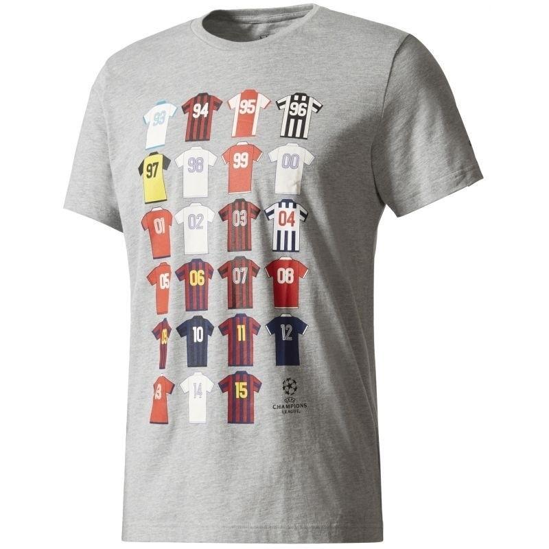 Adidas t-shirt UCL Champions League Geschichte, History