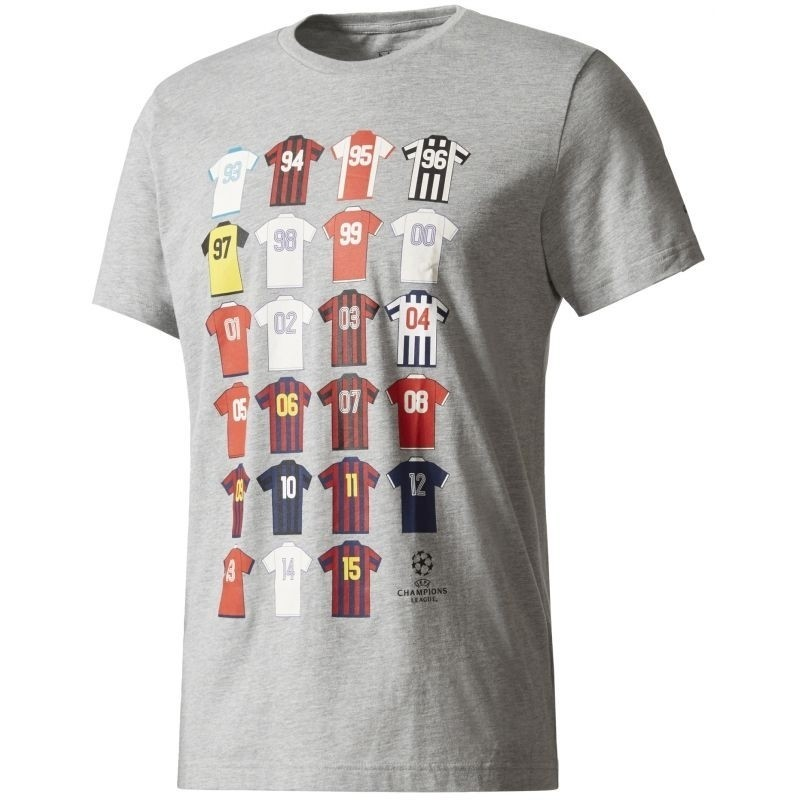 Adidas t-shirt UCL Champions League Storia History