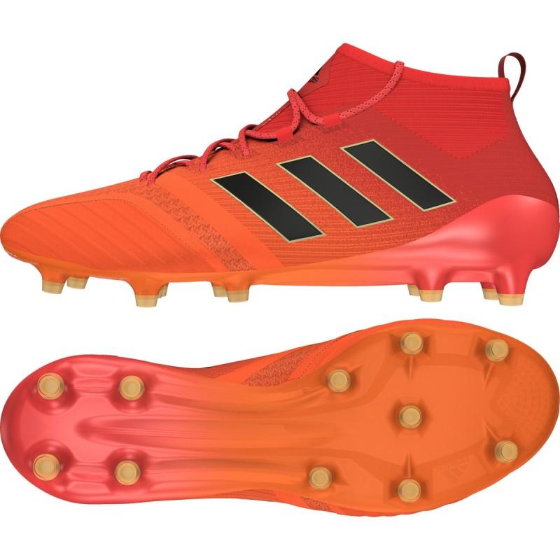 5e056b9a3 Soccer shoes ACE 17.1 FG orange Adidas