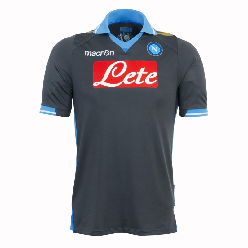 Neapel trikot away Champions league 2011/12-Macron