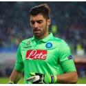 SSC Napoli maglia portiere verde 2014/15 Macron