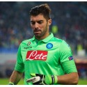 SSC Napoli maillot de gardien de but-vert 2014/15 Macron
