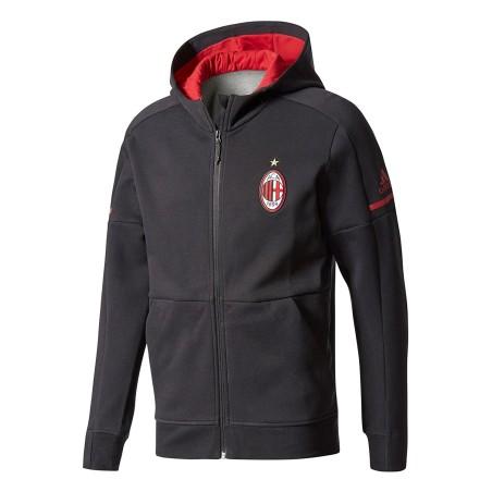 Milan hoody Anthem black 2017/18 Adidas