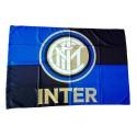 FC Inter de milán logotipo de la bandera Negro Azul oficial