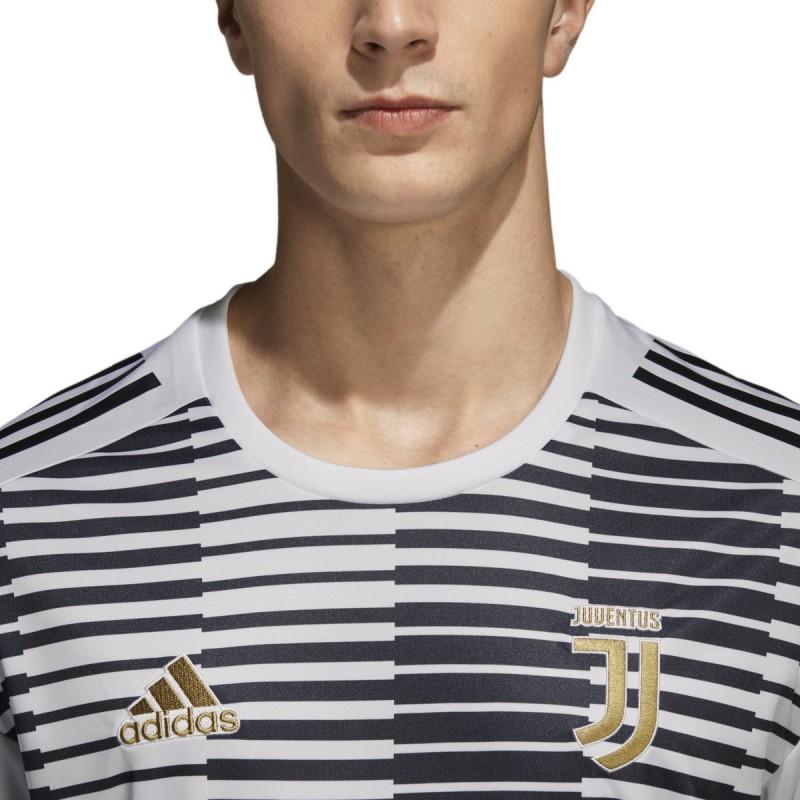 37dcfc6238b ... Juventus FC jersey pre match white 2017/18 Adidas ...