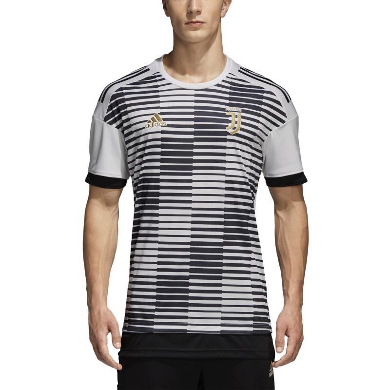 Juventus FC maillot pré match blanc 2017/18 Adidas