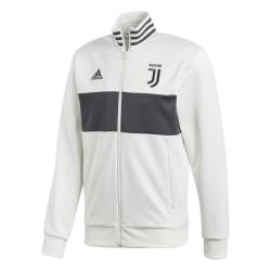 La Juventus sudadera parte Superior de la Pista 3 Rayas blancas Adidas 2017/18