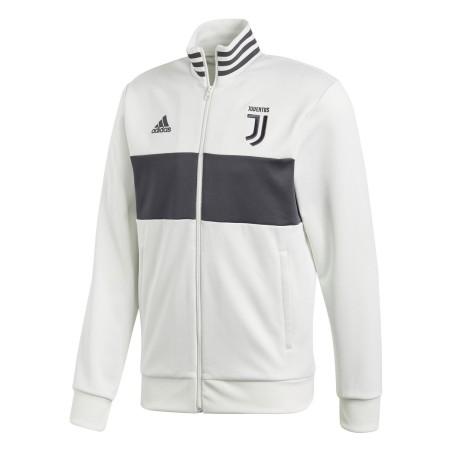 Juventus felpa Track Top 3 Stripes bianca 2017/18 Adidas