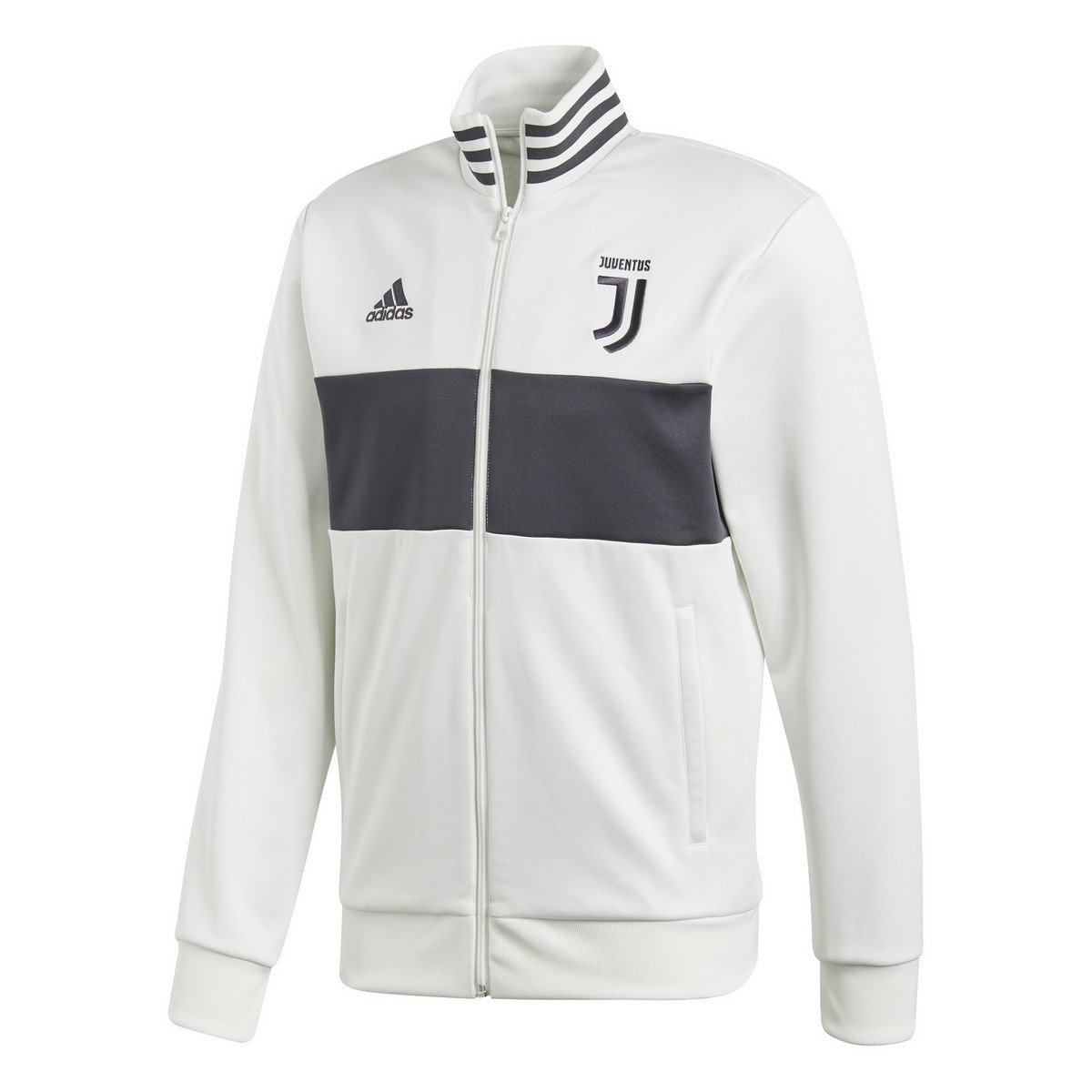 Juventus 3 201718 Felpa Bianca Track Top Stripes Adidas T1P7q8Twx