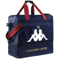Cagliari borsone calcio blu Kappa