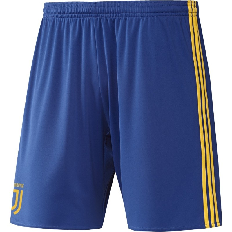 Juventus pantaloncini away blu 2017/18 Adidas