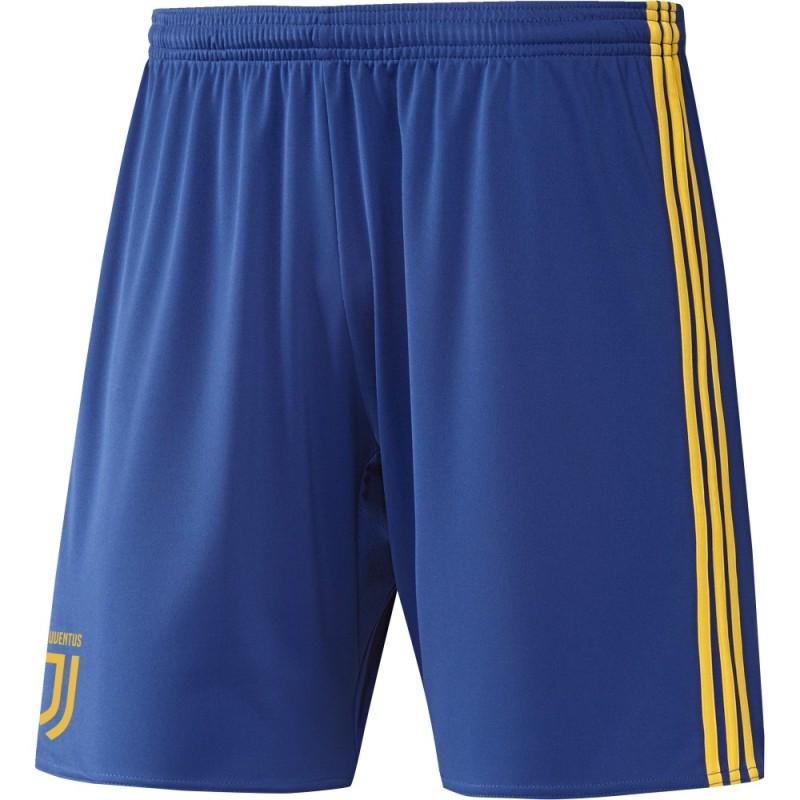 La Juventus away shorts bleu 2017/18 Adidas