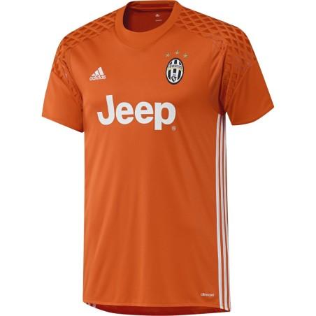 Juventus FC maillot de gardien de but orange 2016/17 Adidas