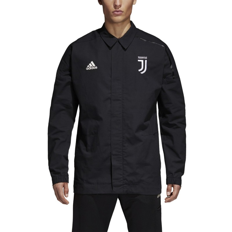 ae18bbbfe Juventus jacket track top Z. N. E. black 2017 18 Adidas